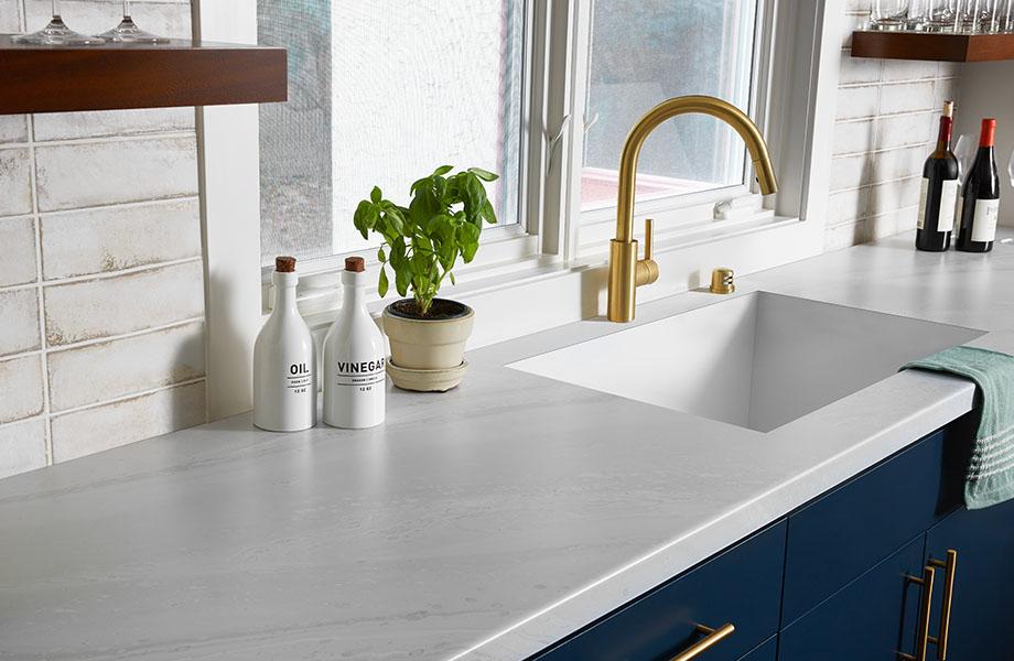 formicia, white marble laminate