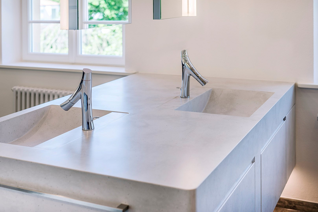 staron, solid surface, sink
