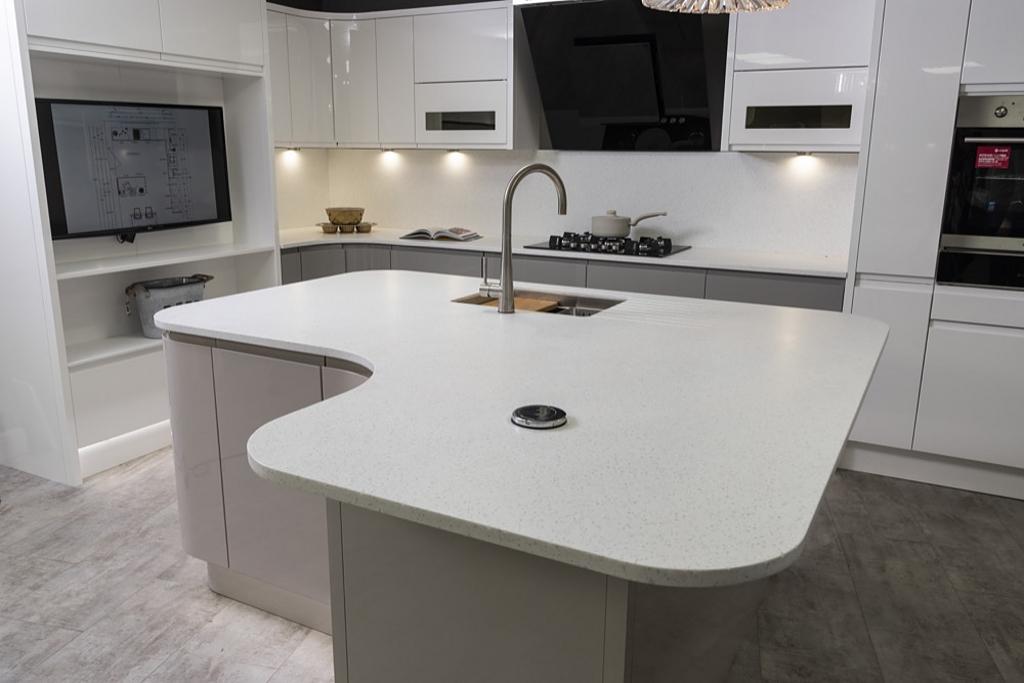 staron, kitchen island