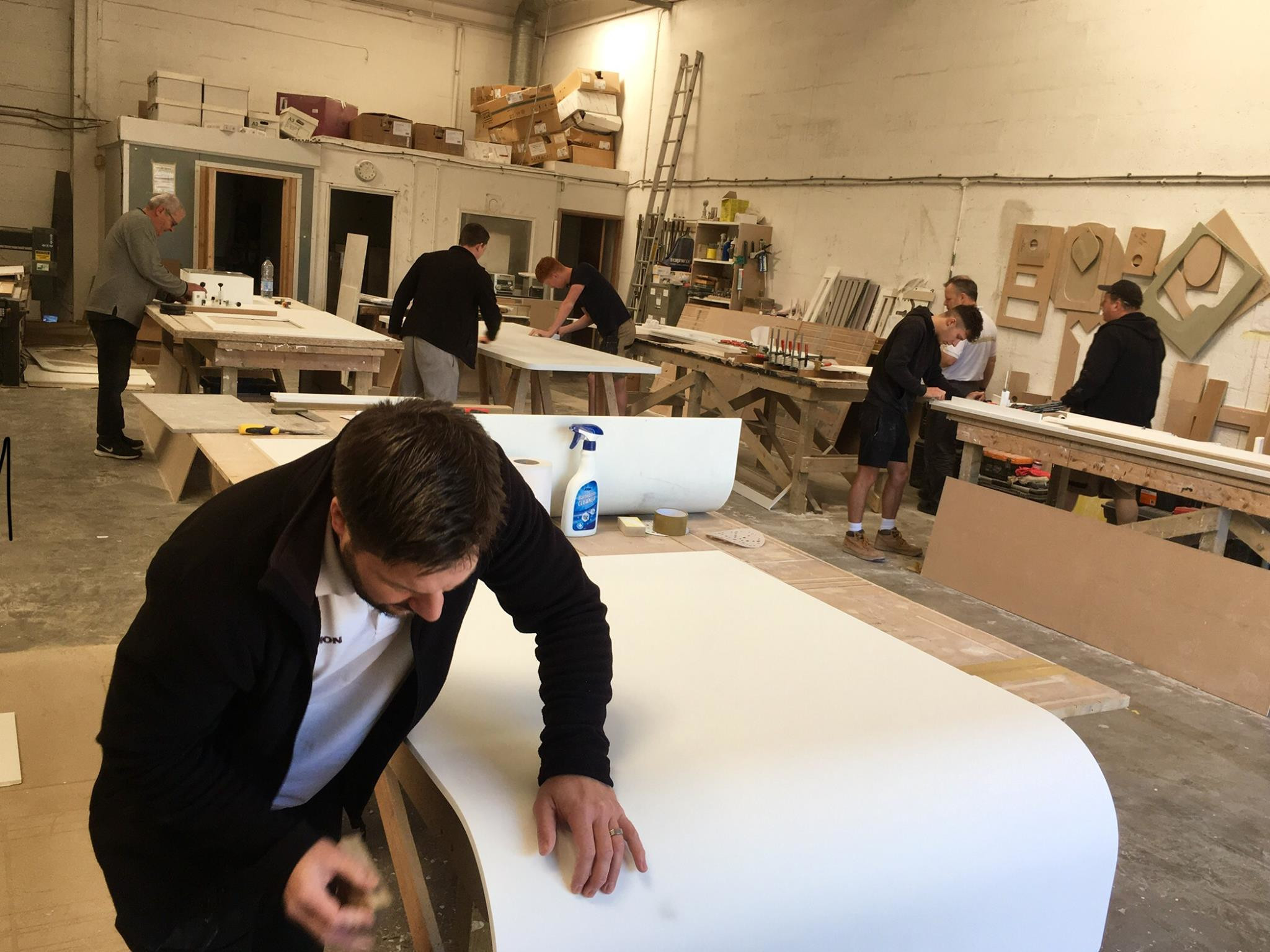 Worktops Installer Corian Composite Work Tops Newport Wales Uk