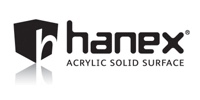 Hanex Acrylic Solid Surfaces - kitchen worktops, bathrooms